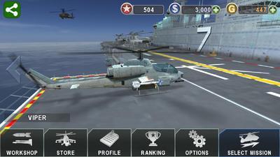 4下载】炮艇战:3d直升机