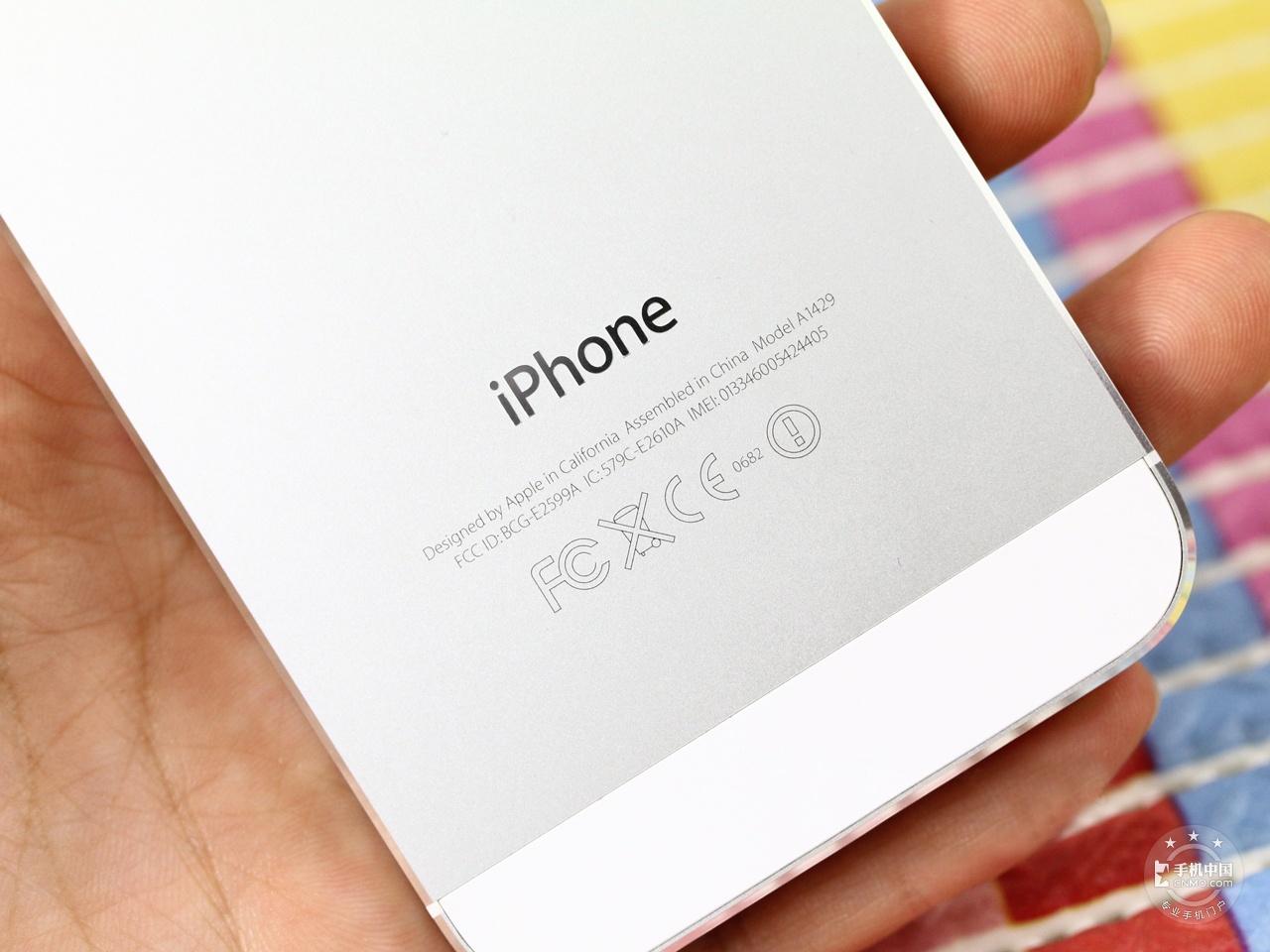 苹果iPhone5(64GB)机身细节第2张