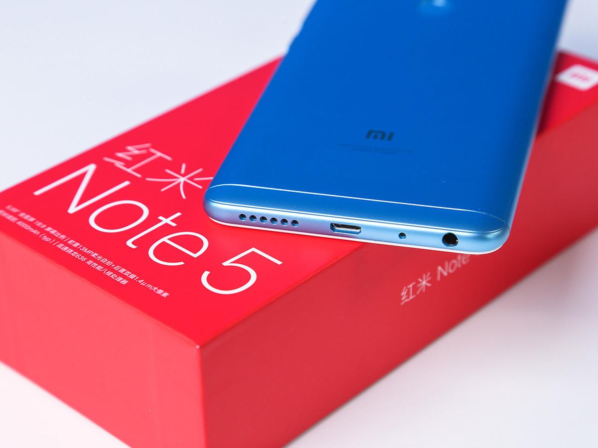 红米Note5(3+32GB)机身细节第1张