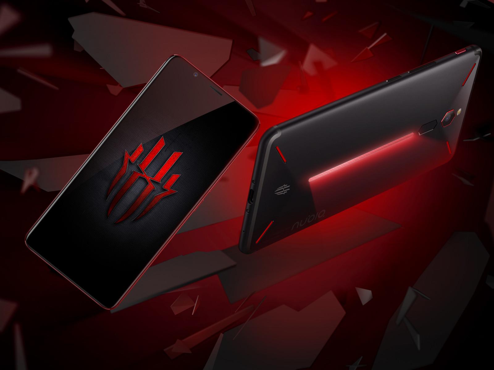 努比亚红魔电竞游戏手机(64GB)整体外观第1张