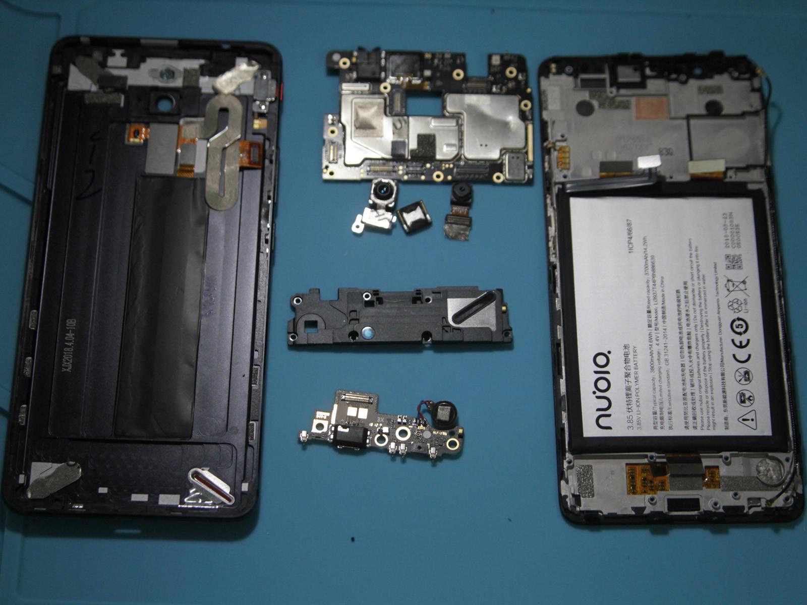 努比亚红魔电竞游戏手机(64GB)拆机图赏第3张