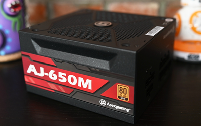 艾湃電競AJ-650M體驗:大功率全模組穩定耐用,全日系電容加持